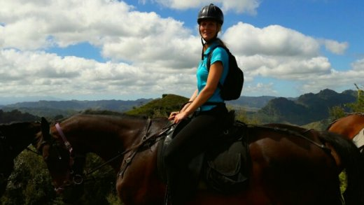 Horsetrekking Tour in Whakahoro, Neuseeland
